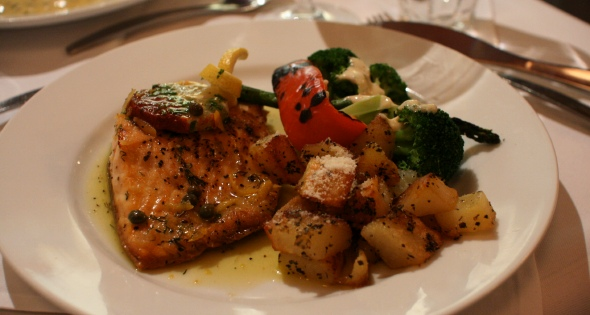 Arctic char at Cafe Pleiade