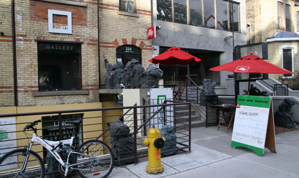 Art Square Cafe on Dundas St West in Toronto