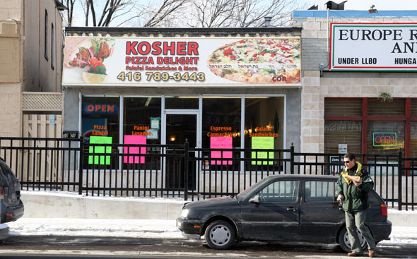 Kosher Pizza Delight