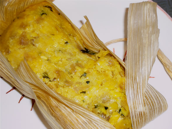 ), Chilean tamales stuffed with a wicked combo of sweet, creamed corn ...
