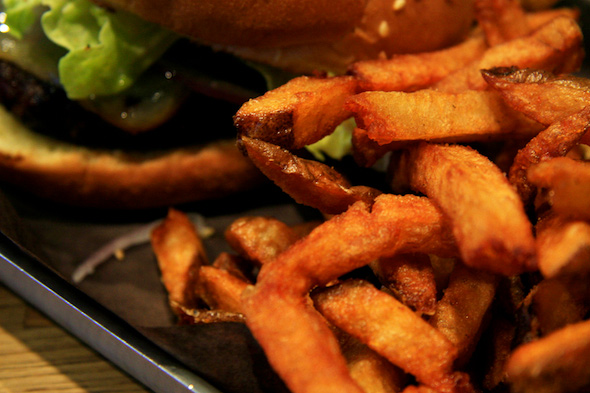 Craft Burger fries