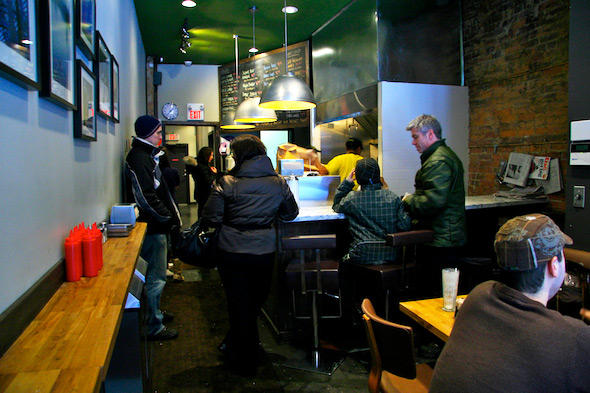 Craft Burger interior