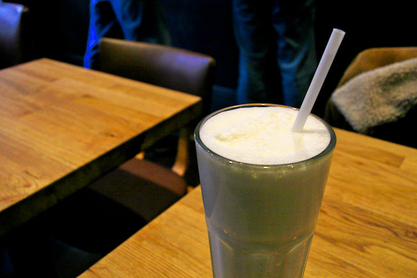Craft Burger milkshake