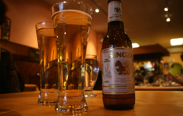 Singha Beer