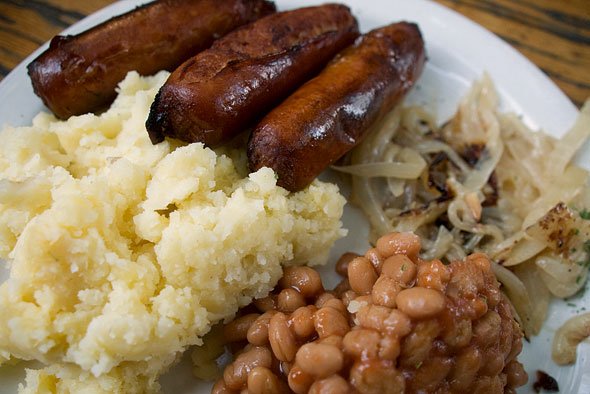 Loons Bangers and Mash