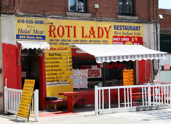 Roti Lady Outside