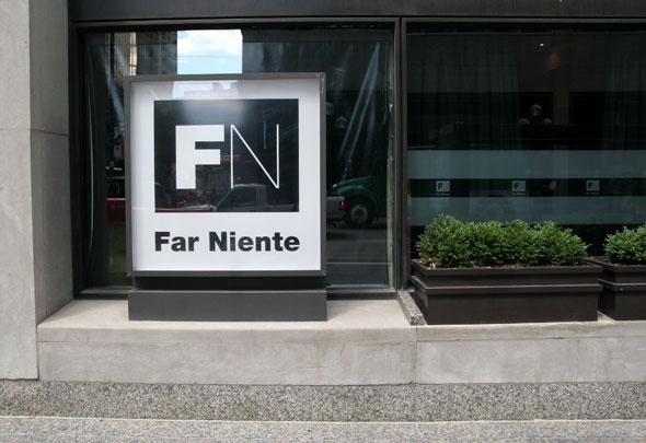 Far Niente Restaurant Bay Street