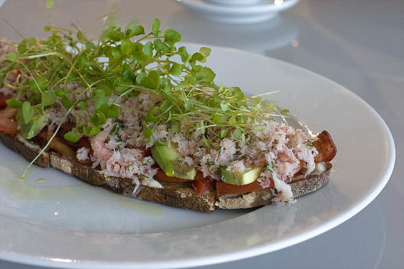 Crab Tartine
