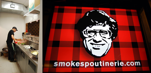 Smoke's Poutinerie Sign