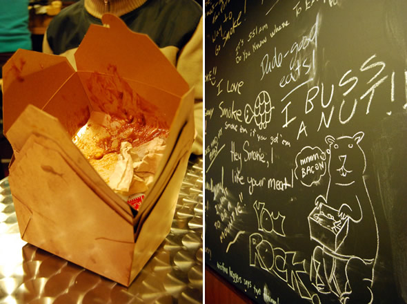 Smoke's Poutinerie Chalkboard