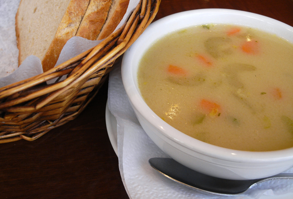cafe  polonez soup