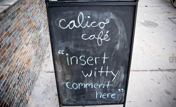Calico Sign