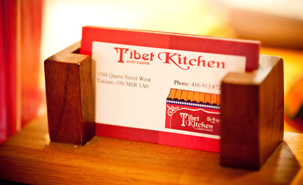 Tibet Kitchen Cards