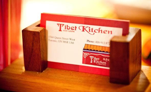 Tibet Kitchen Cards