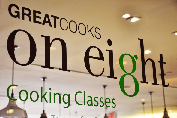 Great Cooks on eight