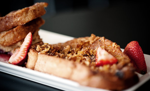 Trio of French Toast