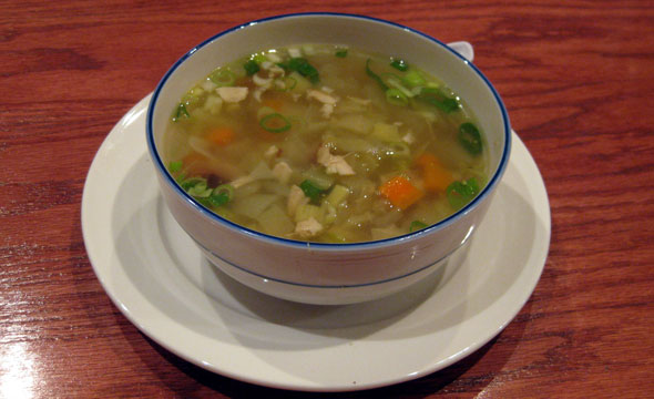 wow chicken soup