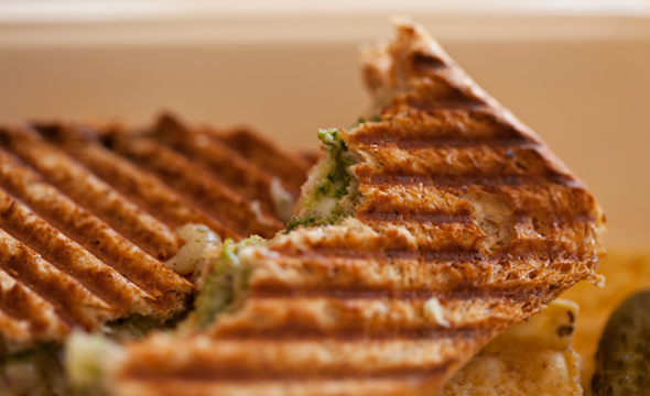 Grilled Cheese Dill-icious