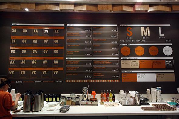 Xococava menu