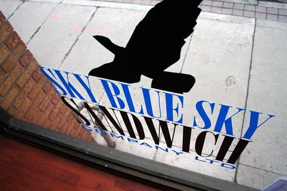Sky Blue Sky Toronto