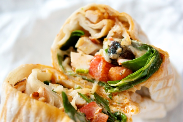 Fusaro Chicken Wrap