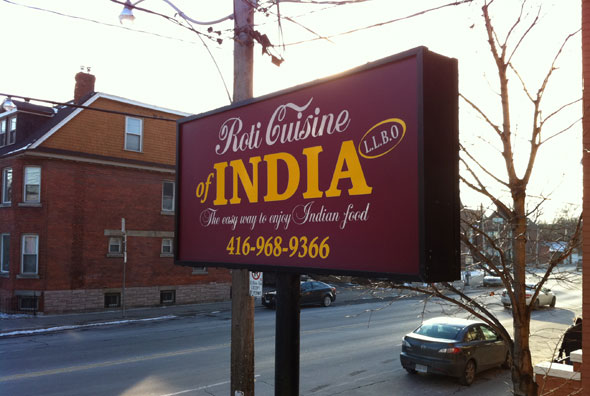 Roti Cuisine of India Toronto