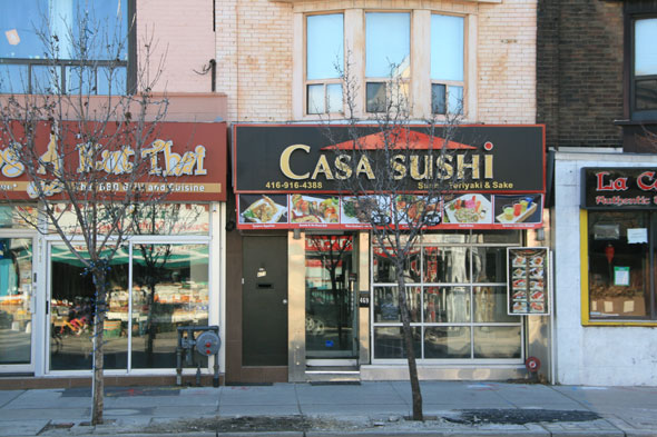 Sushi Restaurant On Ossington