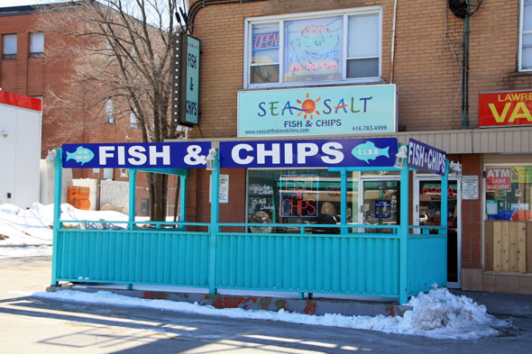 Sea Salt Fish Chips Toronto