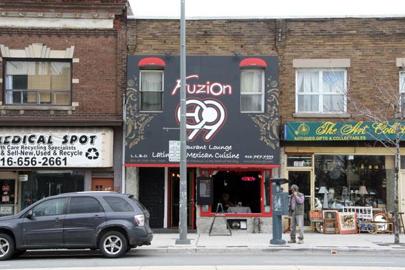 Fuzion Restaurant Toronto