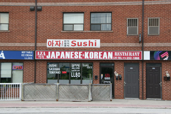 Aza Sushi Toronto