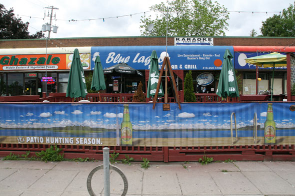 Blue Lagoon is an Etobicoke sports bar with regular karaoke events.