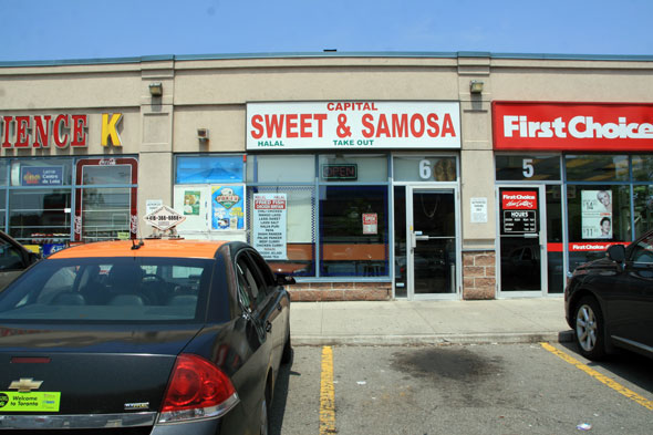 Capital Sweet and Samosa