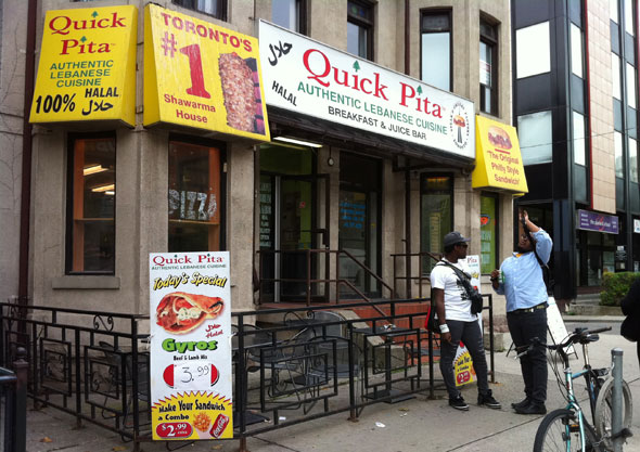 Quick Pita (College St.) Toronto