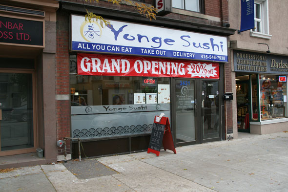 Yonge Sushi Toronto