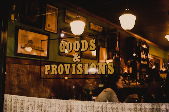 Goods and Provisions