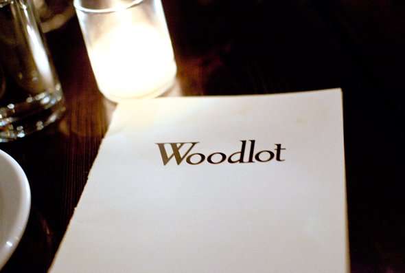 woodlot menu