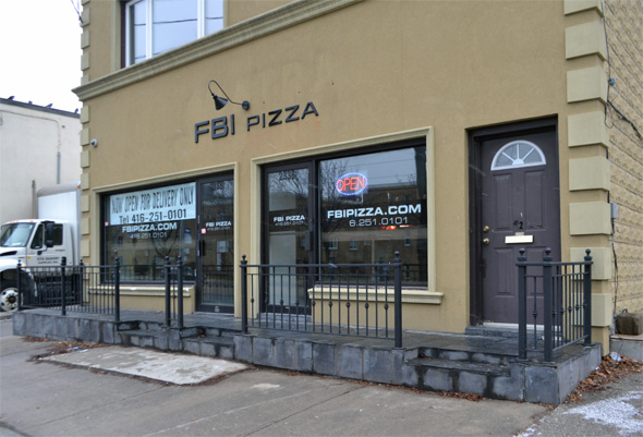 FBI Pizza Toronto