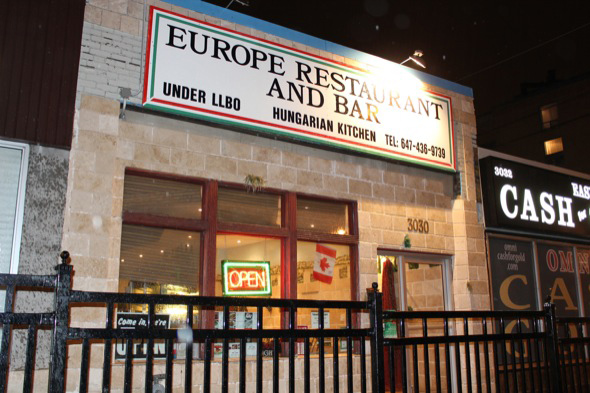 Europe Bar Restaurant Toronto