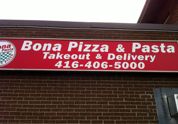 Bona Pizza and Pasta