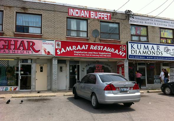 Albion And Islington Indian Restaurants