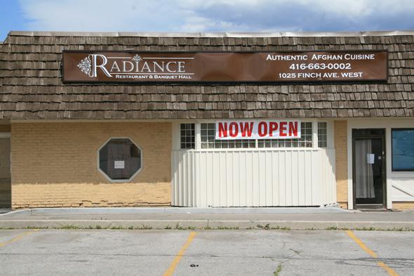 Radiance Restaurant Toronto