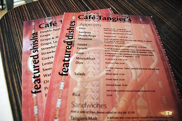 cafe tangiers toronto
