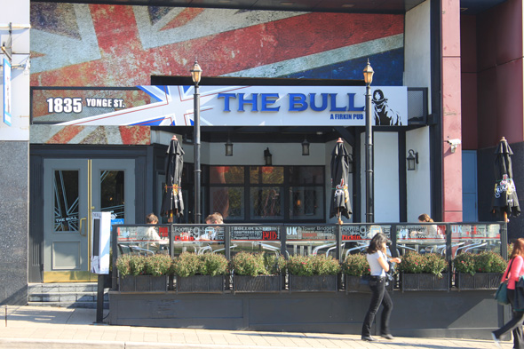 The Bull firkin pub