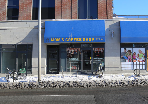 Mom's Coffee Shop toronto
