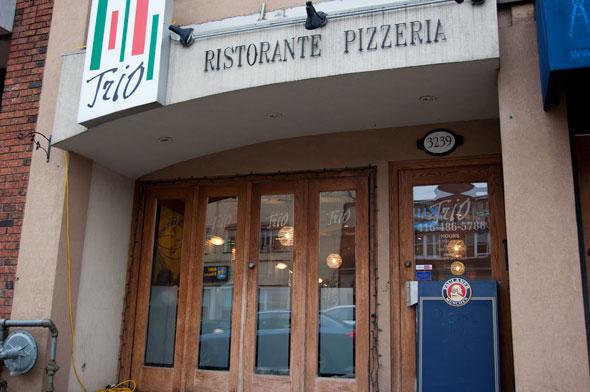 toronto trio ristorante pizzeria