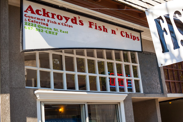 Ackroyds Fish Chips