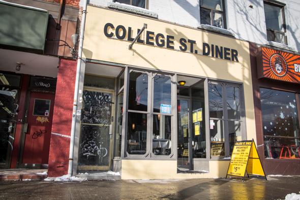 College Street Diner Closed Blogto Toronto