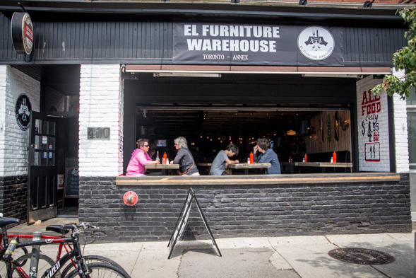 el furniture warehouse blogto toronto