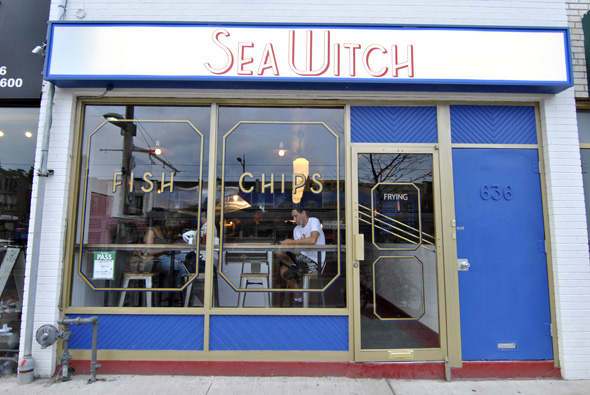 sea witch fish and chips toronto