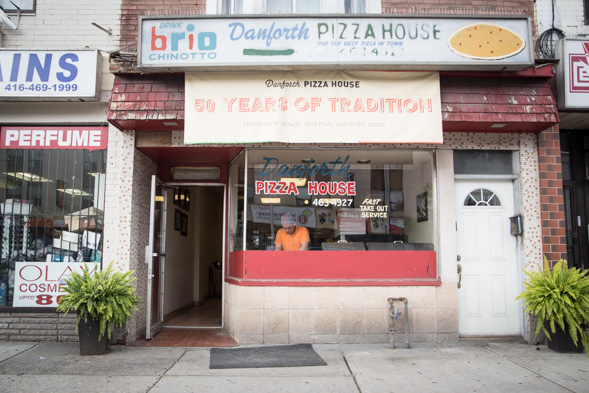 Danforth Pizza House Toronto